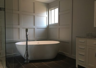 modern bathroom Davies Home Improvements